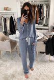 Blue Cosy Pyjama Set