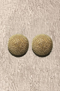 Large Gold Chained Studs