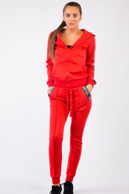 Red Foil Loungewear Set