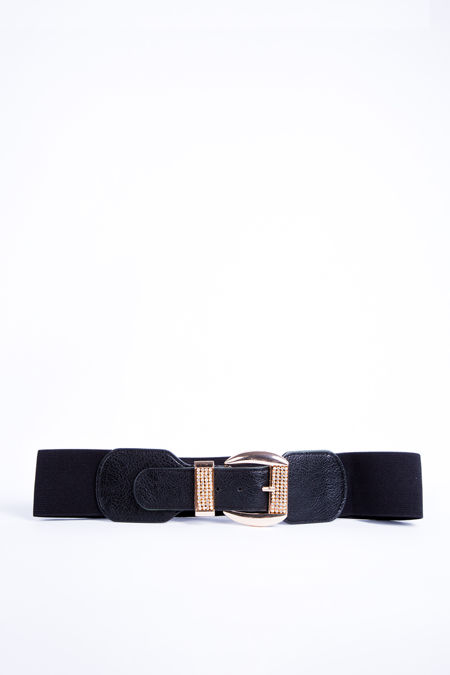 Gold Diamante Buckle Belt