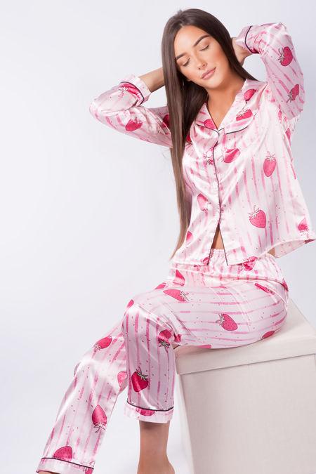 Strawberry Love Pyjama Set