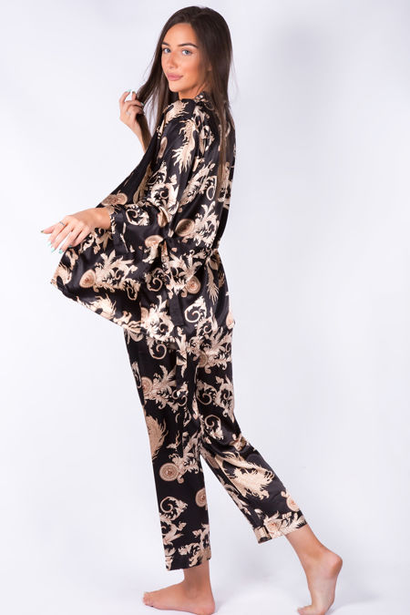 Black Dragon Robe