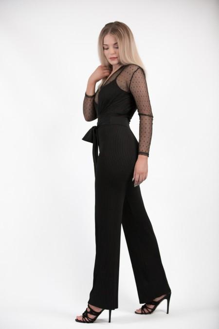 Black Soft Trousers