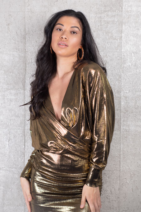 Golden Mercury Dress