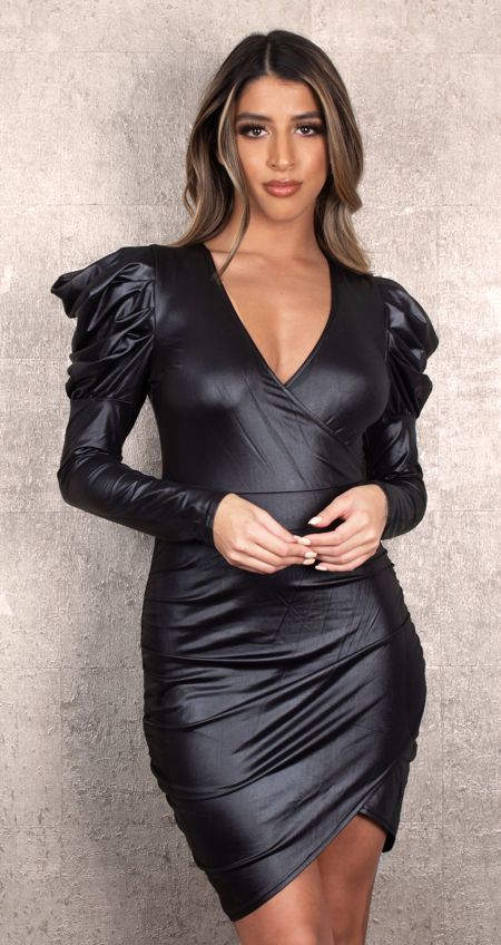 Leather Beauty Dress