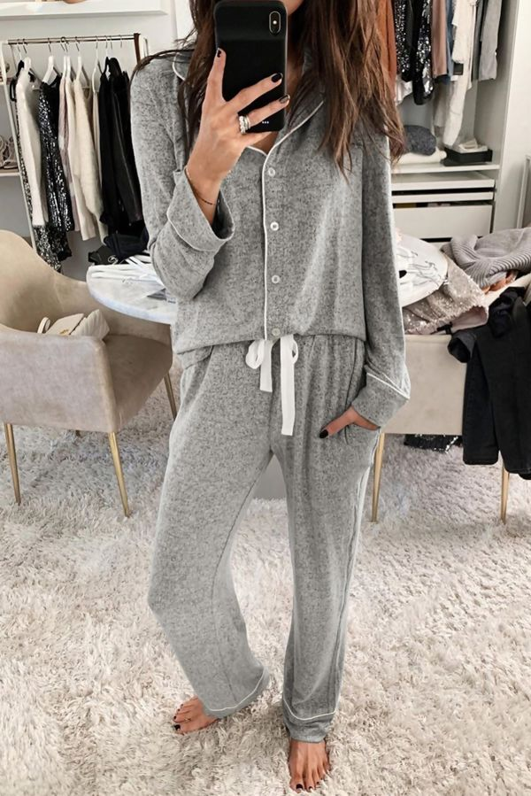 Cream Cosy Pyjama Set