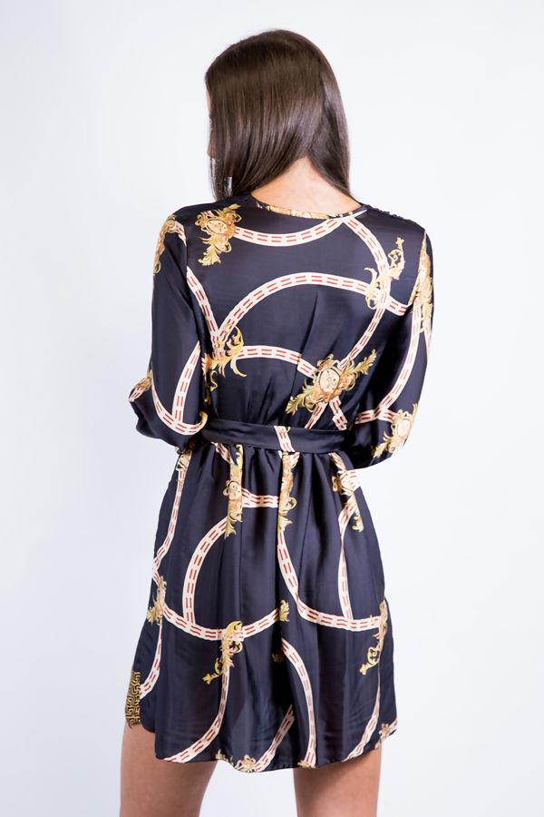 Black Chain Dress