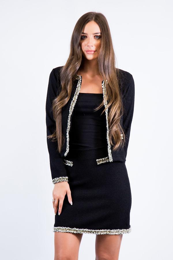 Black Lady Like Skirt