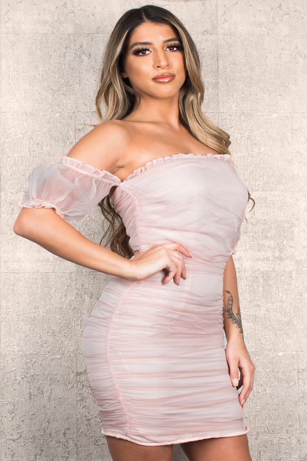 Cute Look Pink Dress
